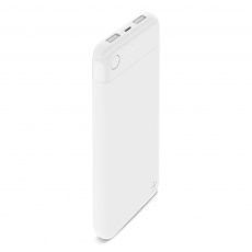 BELKIN BoostCharge Power Bank 10K with Lightning connector, White
