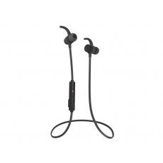 Sportovní bezdrátové sluchátka do uší Audictus Endorphine, BT 4.1, vodeodolné, černé