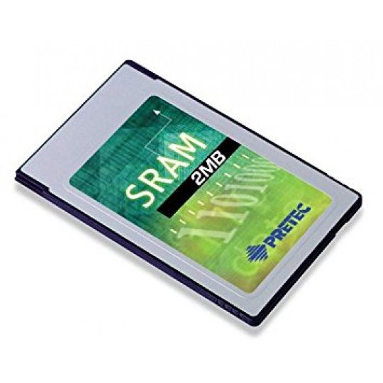 Industry Pretec PCMCIA SRAM Card 2MB MB86187 -20°C - +85°C (with 8KB A/M) 8bit