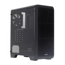 case Zalman miditower S2, ATX/mATX/Mini-ITX, bez zdroje, USB3.0, černá