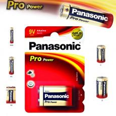 Panasonic 9V, Pro Power 6LR61, alkalická baterie