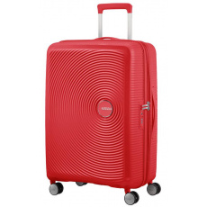 American Tourister Soundbox Spinner 65 EXP Cor.Red