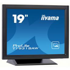 """19"""" iiyama T1931SAW-B5 - TN,SXGA,250cd/m2, 1000:1,5:4,VGA,HDMI,DP,USB,repro."""