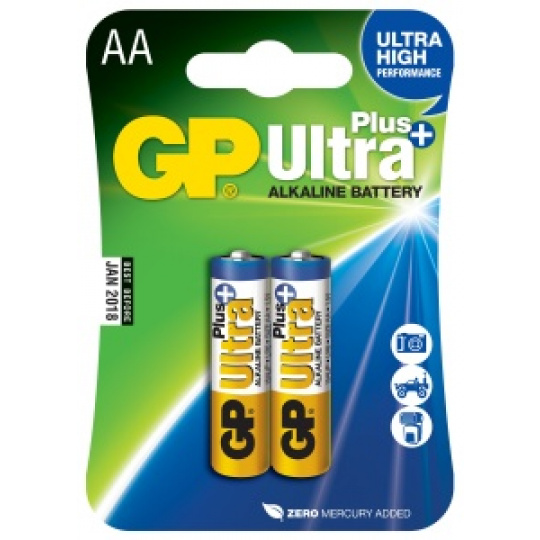 GP LR6, AA, tužka, 2ks, Ultra Plus