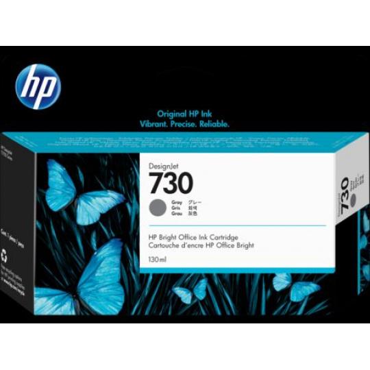HP 730 130-ml Gray Ink Cartridge