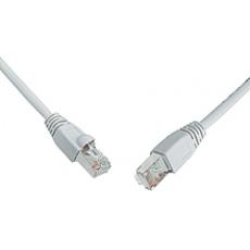 SOLARIX patch kabel CAT5E SFTP PVC 15m šedý snag proof