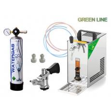 PYGMY 20 Green Line + 1x naražeč (Bajonet) a CO2 mini