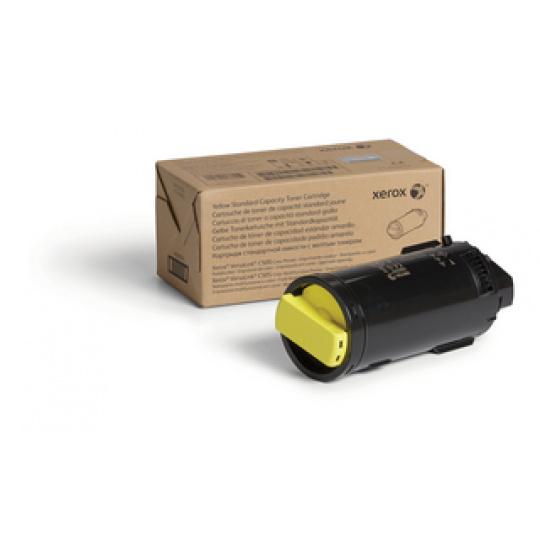 Xerox Yellow Toner Cartridge C500/C505 2,4K