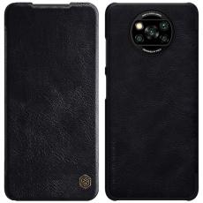 Nillkin Qin Book Pouzdro pro Xiaomi Poco X3 Black