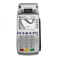 Registrační pokladna (EET CZ) s platebním terminálem FiskalPro VX520, konektivita Ethernet + napájecí zdroj