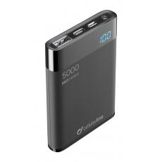 PB Cellularline Manta HD,5000 mAh,USB-C, černá