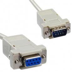 PremiumCord kabel 9pin, prodlužovací, 10m