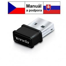 Tenda W311MI WiFi N USB Adapter Pico, 150 Mb/s, 802.11 b/g/n, režimy Client, Soft AP,Win,Mac,Lin