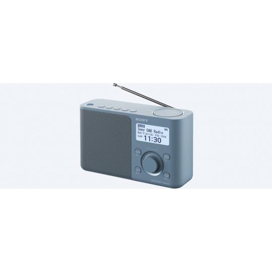 Sony rádio XDRS61DL.EU8 přenosné, modrá