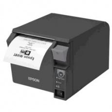 Epson pokladní termotiskárna TM-T70II, černá, BT, USB, zdroj