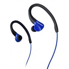 Pioneer SE-E3 závěsná sportovní sluchátka modrá