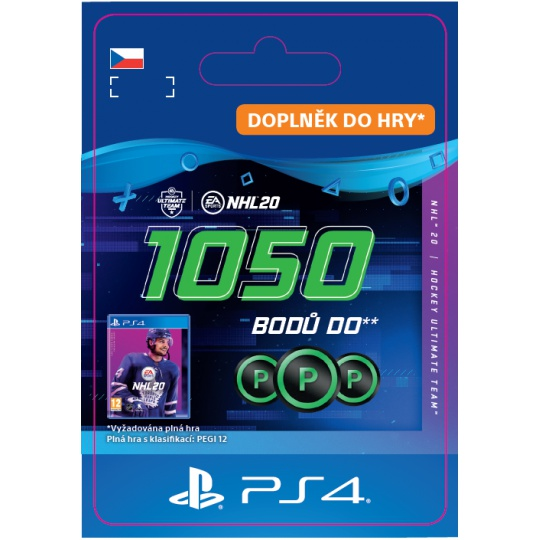 ESD CZ PS4 - NHL 20 - 1050 Points Pack