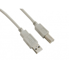 4World Kabel USB 2.0 AM-BM 1.8m Gray