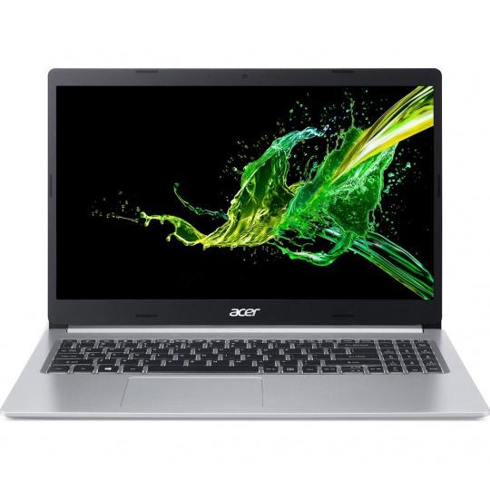 """Acer Aspire 5, A515-55-38JU, 15.6"""" FHD, i3-1005G1, 8GB, 256GB SSD, Windows 10,stříbrný+brašna+myš"""