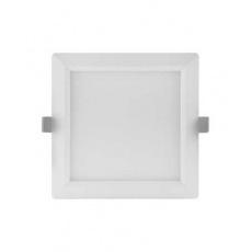 Svítidlo vestavné LED 18W 3000K 1530lm čtverec 210 bílá IP20