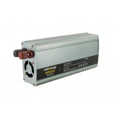 WE Měnič napětí DC/AC 12V / 230V, 800W, USB