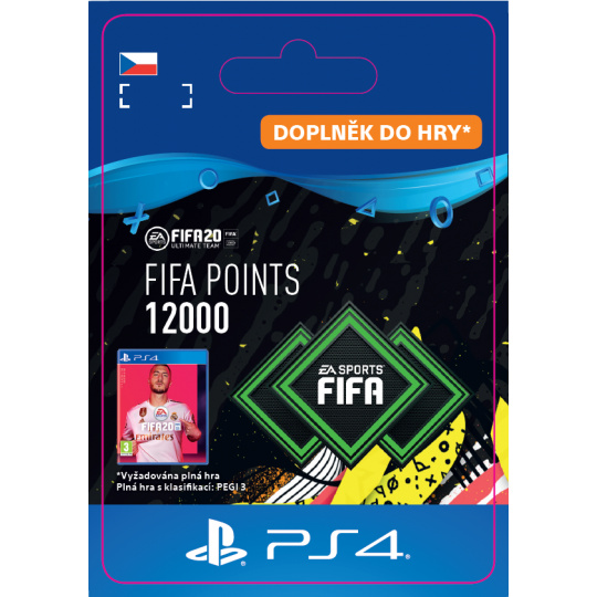 ESD CZ PS4 - FIFA 20 Points 12000