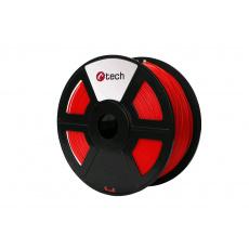 PLA FLUORESCENT RED červená C-TECH, 1,75mm, 1kg