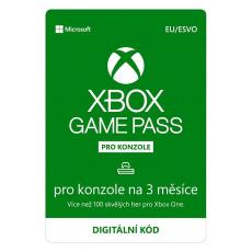 ESD XBOX - Game Pass Console - předplatné na 3 měsíce (EuroZone)