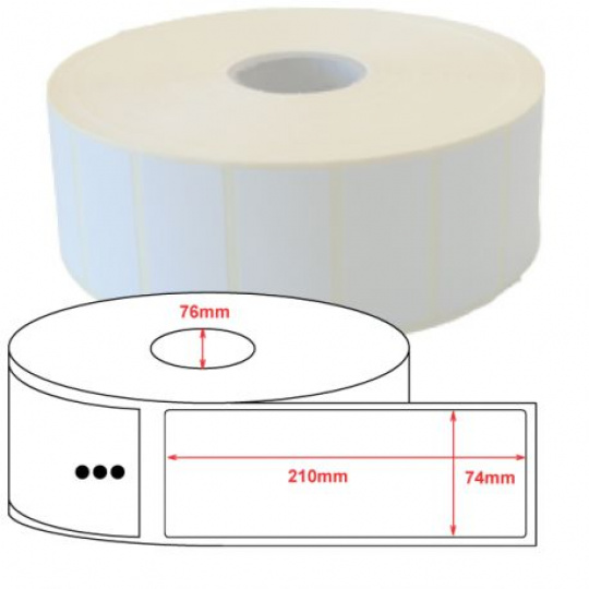 Z-Select 2000T 74 x210,800 ks/role,6rolí/balení