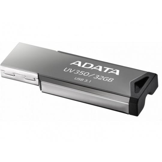 32GB ADATA UV350 USB 3.1 silver (potisk)