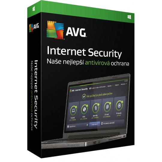 Renew AVG Internet Security for Windows 5 PCs 1Y