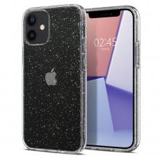 "Ochranný kryt Spigen Liquid Crystal Glitter pro Apple iPhone 12 mini (5,4"") transparentní"
