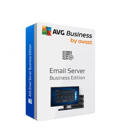 AVG Email Server Business Edition, 40 mbx. /24 m.