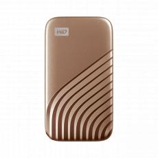 Ext. SSD WD My Passport SSD 500GB zlatá