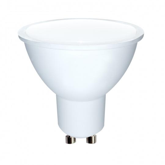 WE LED žárovka SMD2835 MR16 GU10 3W teplá bílá