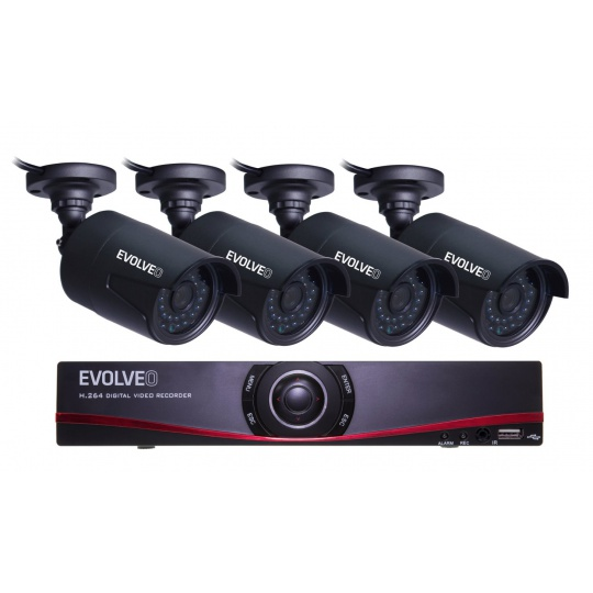 EVOLVEO Detective D04_FHD, NVR kamerový systém