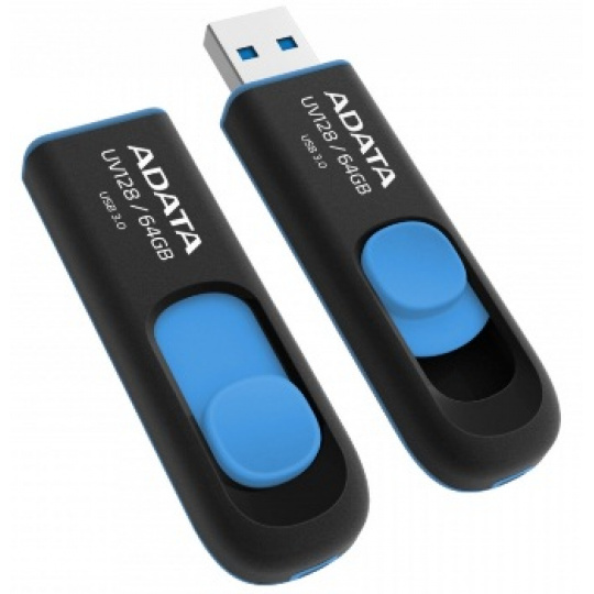 ADATA USB UV128 64GB blue (USB 3.0)