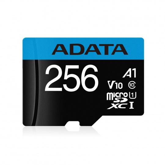 ADATA MicroSDXC 256GB UHS-I 100/25MB/s + adapter