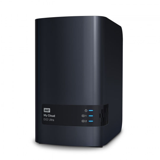 "NAS 3.5"" WD My Cloud EX2 Ultra 8TB NAS LAN"