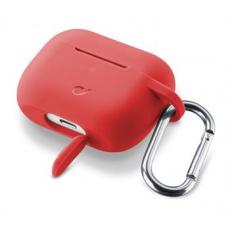 Kryt Cellularline Bounce AirPods Pro, červený