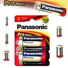 Panasonic LR20, D, velké mono, Pro Power, 2ks, alkalická baterie