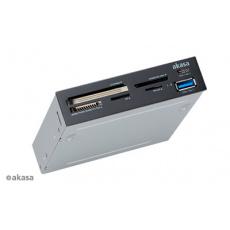AKASA USB čtečka karet s USB C portem