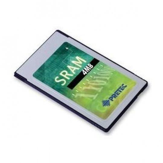 Industry Pretec PCMCIA SRAM Card 4MB MB86187 -20°C - +85°C (with 8KB A/M) 16bit
