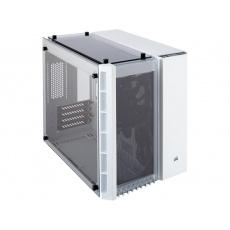 CORSAIR Crysral Series 280X TG Micro ATX, bílá