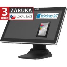 """AerPOS PP-8632, 22"""" LCD LED, 300 cd/m2, J1900 2,42GHz, 4GB RAM, 120GB SSD, Win10 IoT, kapacit."""