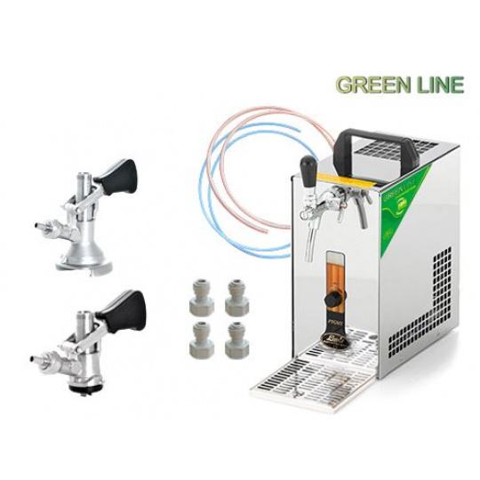 PYGMY 20/K Green Line + 2x naražeč (Bajonet a Plochý)
