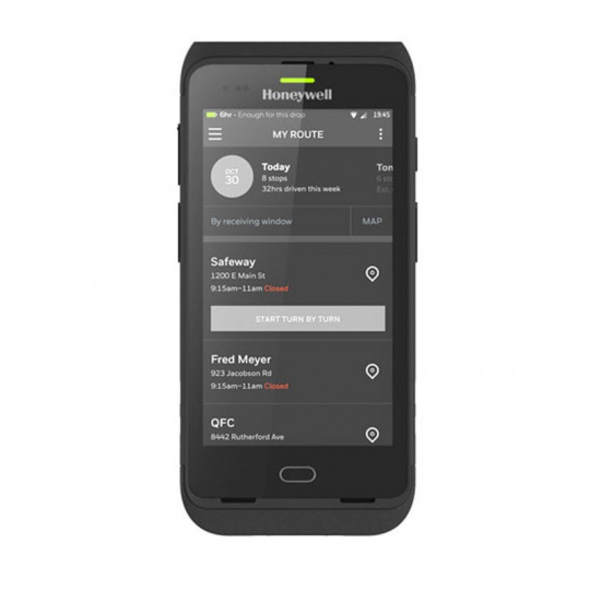 """Honeywell Dolphin CT40 - 2GB/32GB,5""""HD,N6603-2D imager,13MP,WLAN,BT5.0,Android7 GMS,4090mAh"""