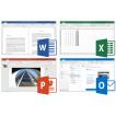 Kancelářské balíky Microsoft Office