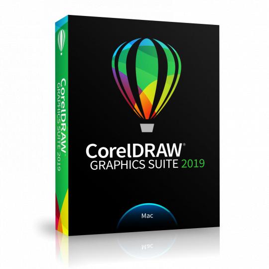 CorelDRAW Graphics Suite 2019 Mac (box) CZ