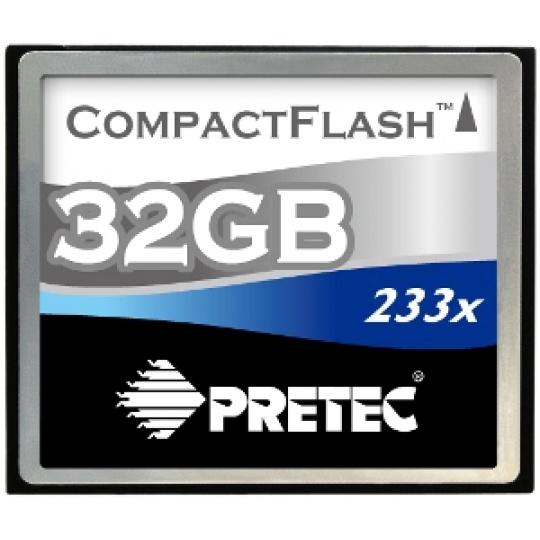 PRETEC CompactFlash 32GB 233x